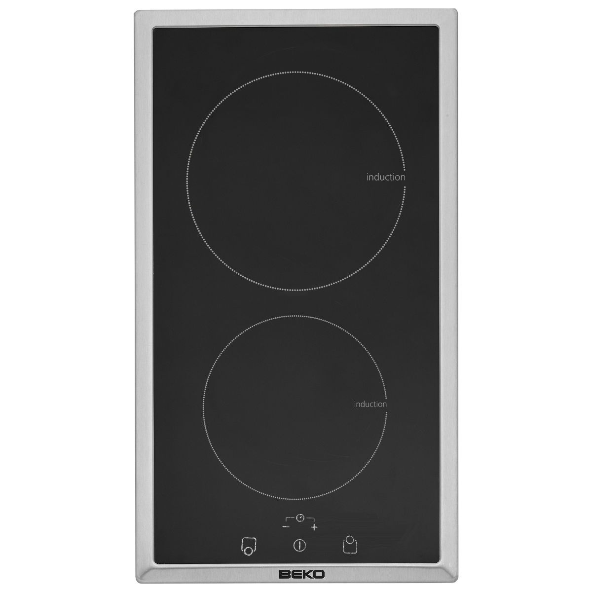 Beko hdmi32400dtx domino induction 2 foyers comparer - Table induction 2 foyers ...