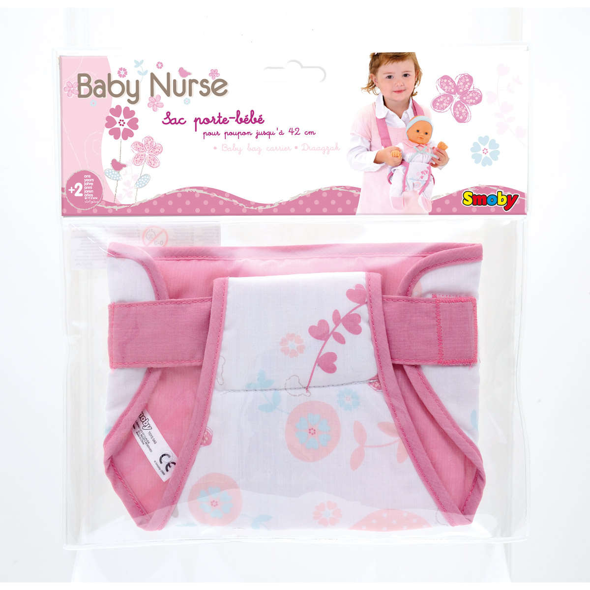 smoby sac porte b b baby nurse comparer avec. Black Bedroom Furniture Sets. Home Design Ideas