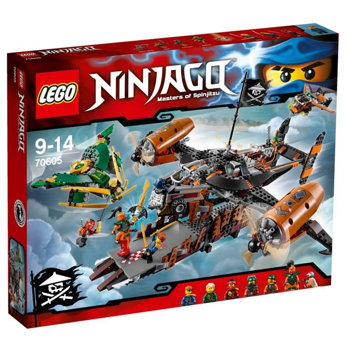 70605 Vaisseau La Lego De Malédiction NinjagoLe TFcJlK1