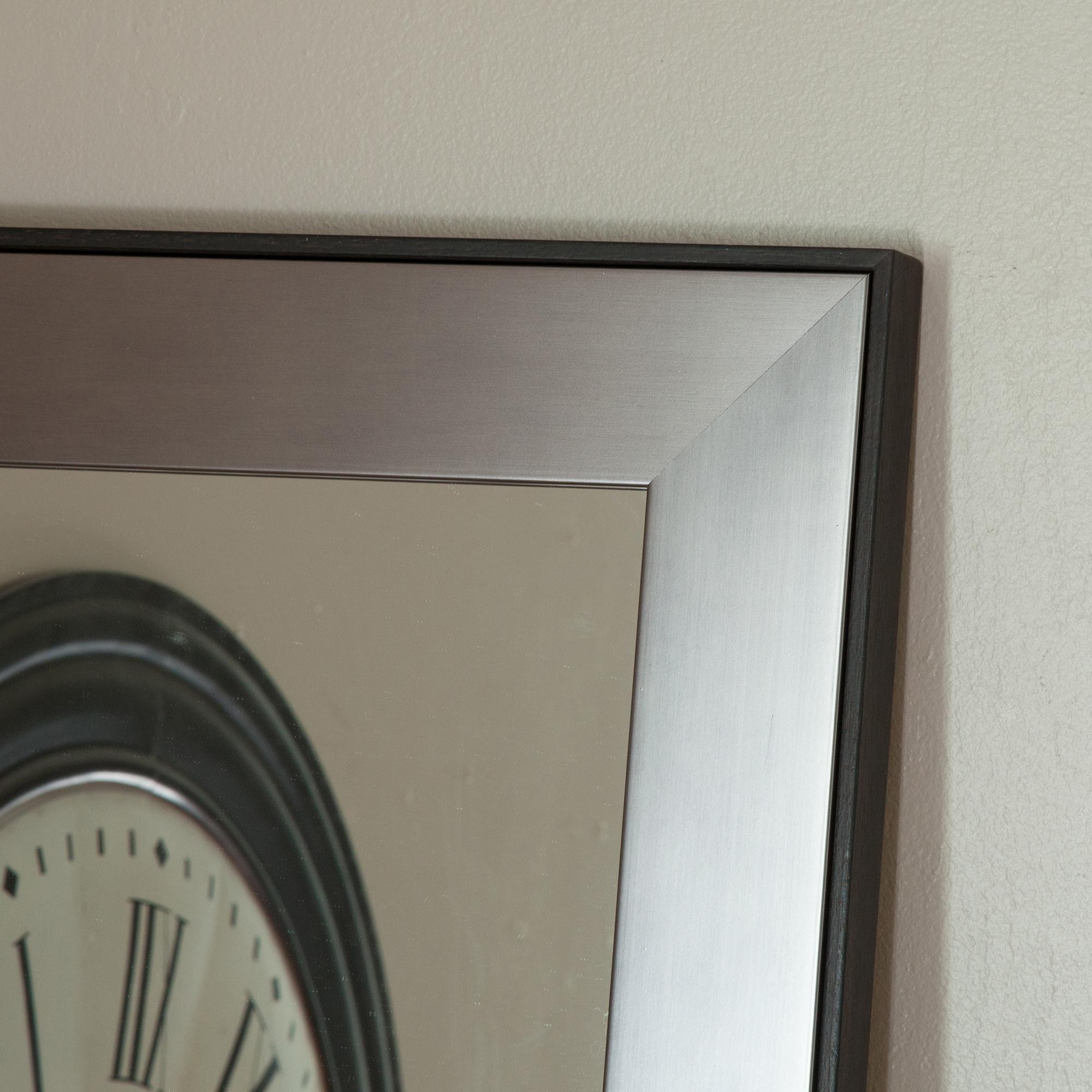 emde miroir mural rectangulaire length en bois 50 x 160 ForMiroir Mural Rectangulaire Bois 50 X 160 Cm Argent Length