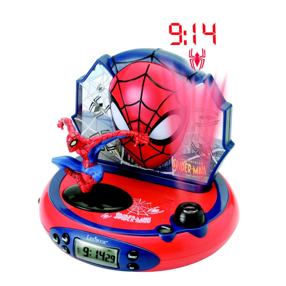 lexibook rp500sp radio r veil projecteur spider man. Black Bedroom Furniture Sets. Home Design Ideas