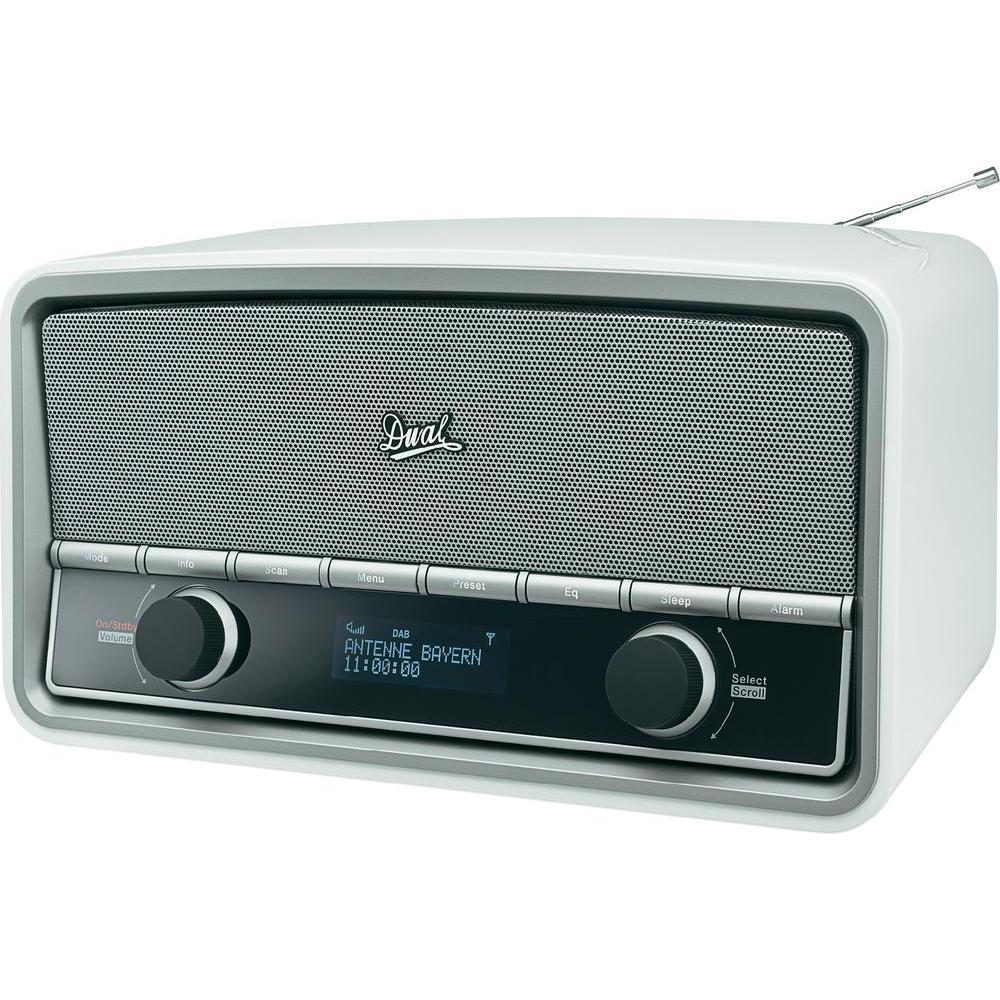 dual nr 5 dab radio de bureau dab comparer avec. Black Bedroom Furniture Sets. Home Design Ideas