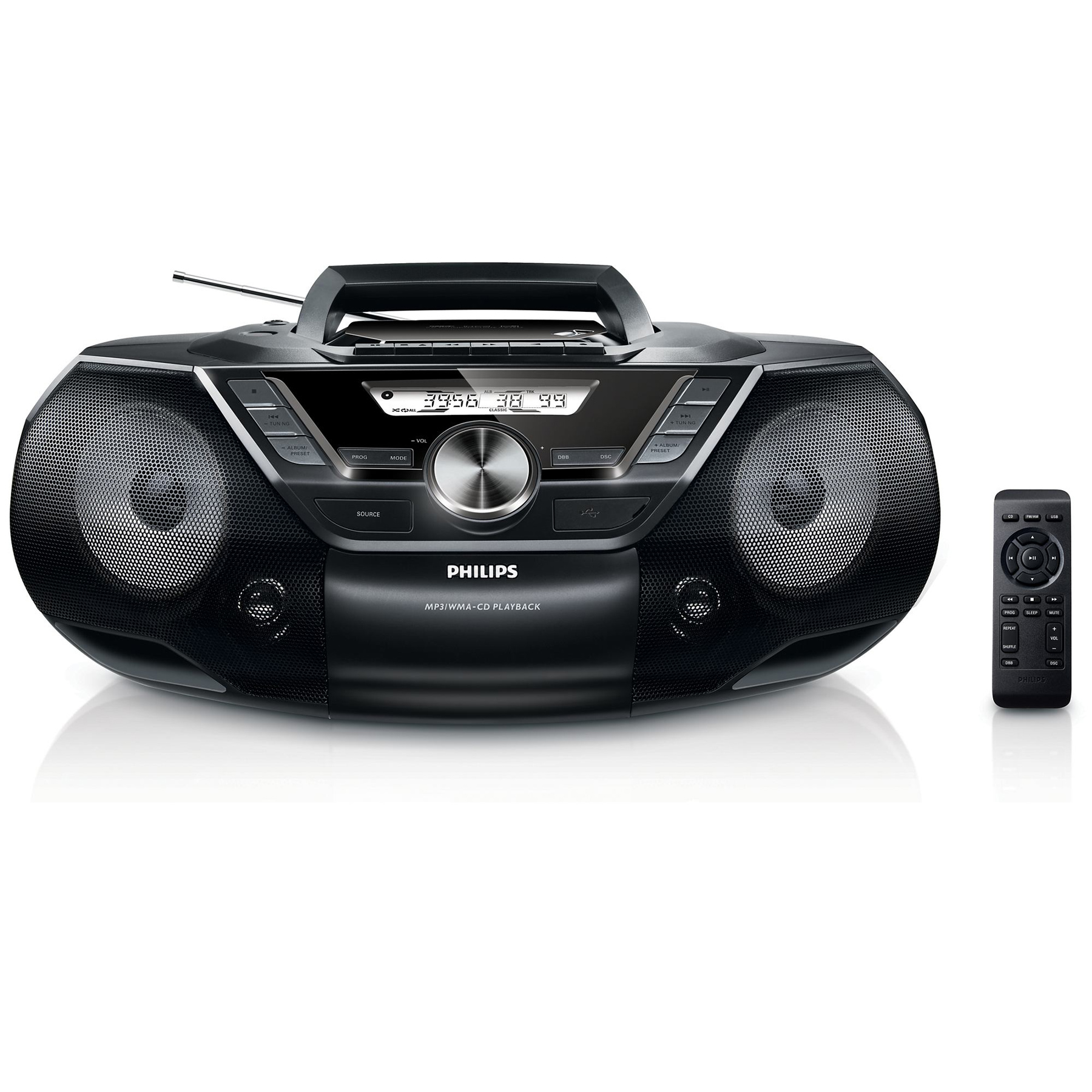 philips az787 12 lecteur de cd et cassette avec port usb comparer avec. Black Bedroom Furniture Sets. Home Design Ideas