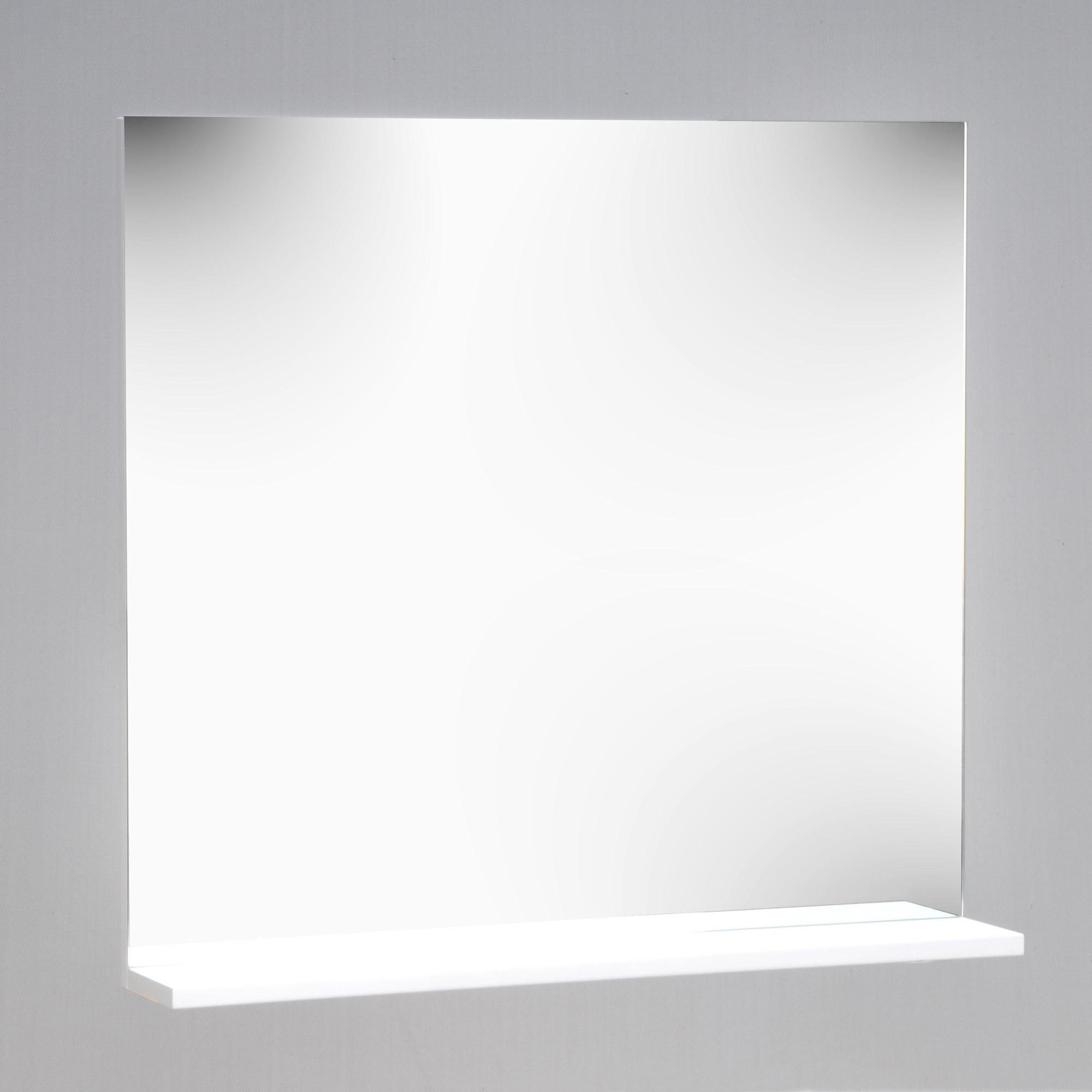 Miroir, psyché pour salle de bain avec tablette Rotana - Comparer ...
