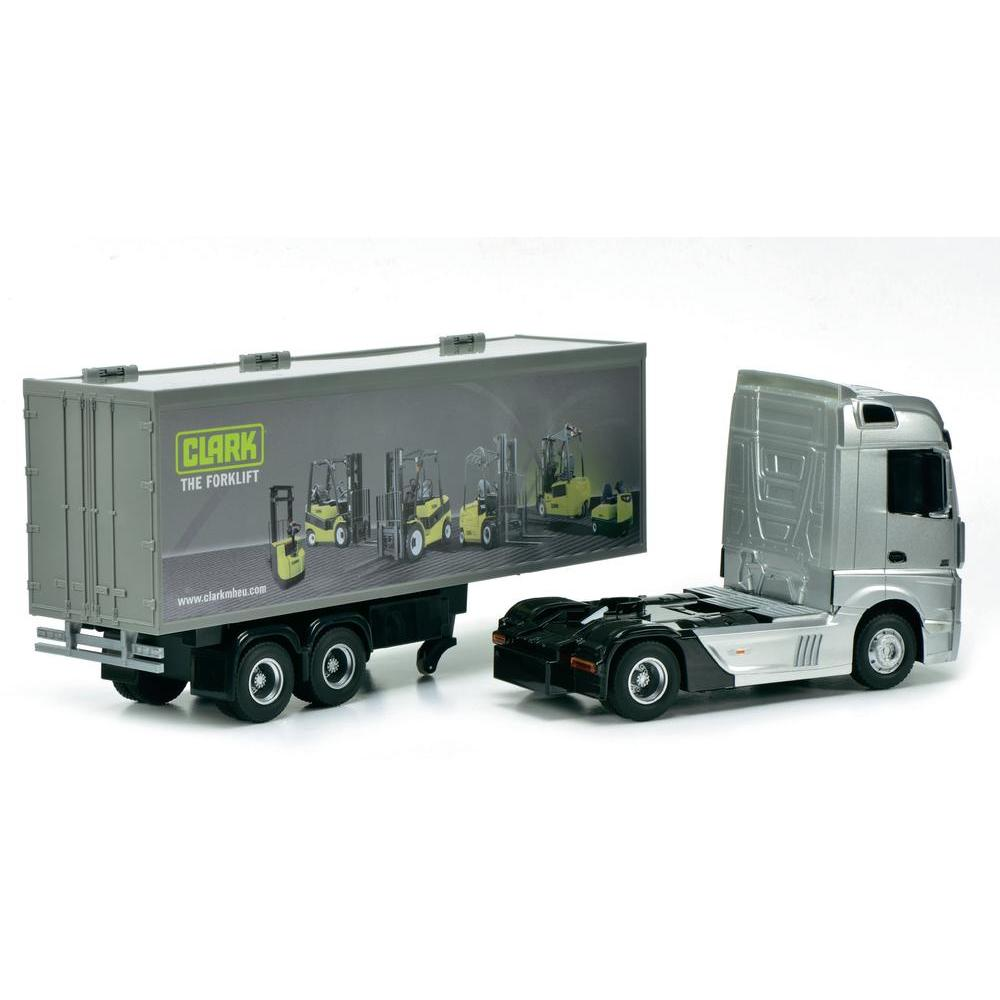 Dickie Toys Camion Mercedes Benz Actros T 233 L 233 Command 233