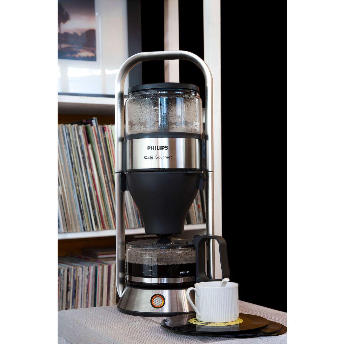 philips hd5412 00 cafeti re caf gourmet comparer avec. Black Bedroom Furniture Sets. Home Design Ideas