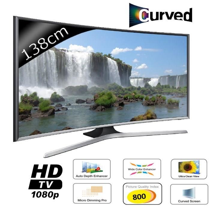 samsung ue55j6300 t l viseur led incurv 138 cm smart tv comparer avec. Black Bedroom Furniture Sets. Home Design Ideas