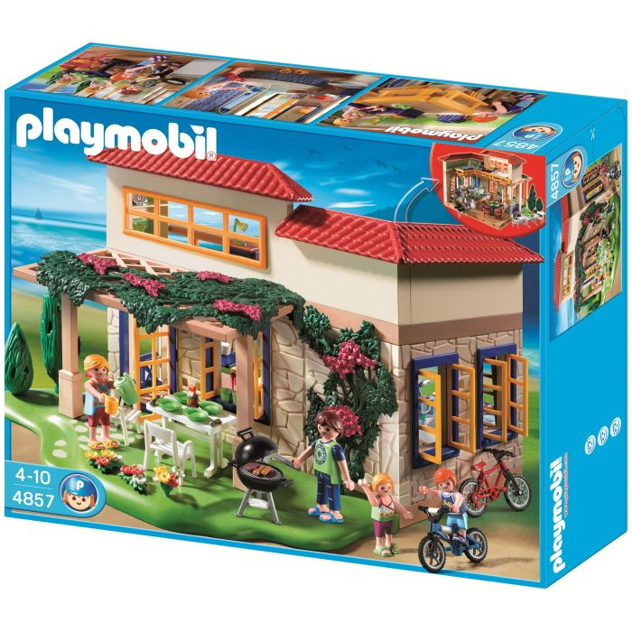 playmobil 4857 maison de campagne comparer avec. Black Bedroom Furniture Sets. Home Design Ideas
