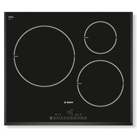 Bosch pil651f17e table de cuisson induction 3 foyers - Table induction 4 foyers ...