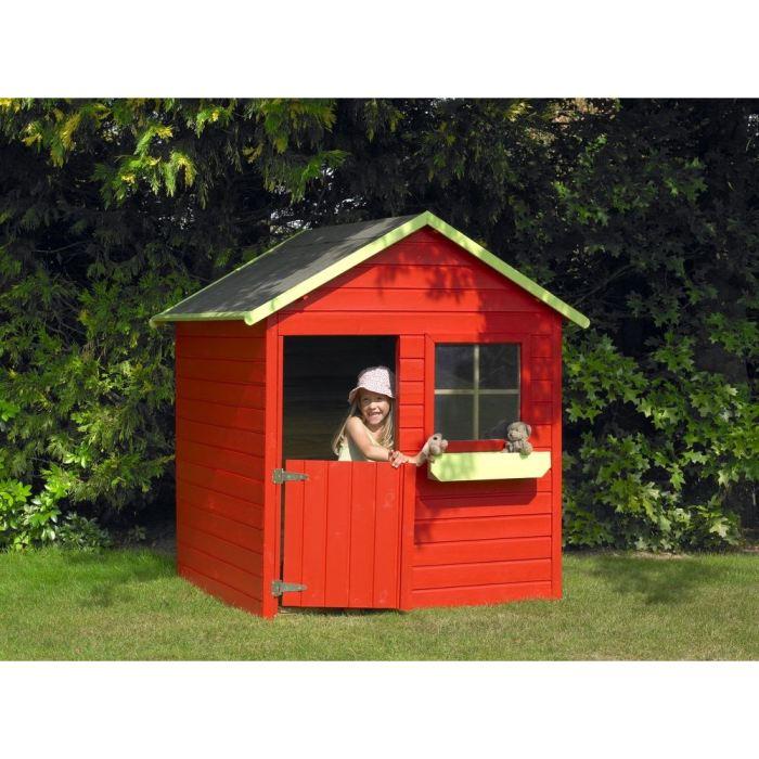 Cerland Coccinelle - Maisonnette en bois - Comparer avec Touslesprix.com 316063450ec8