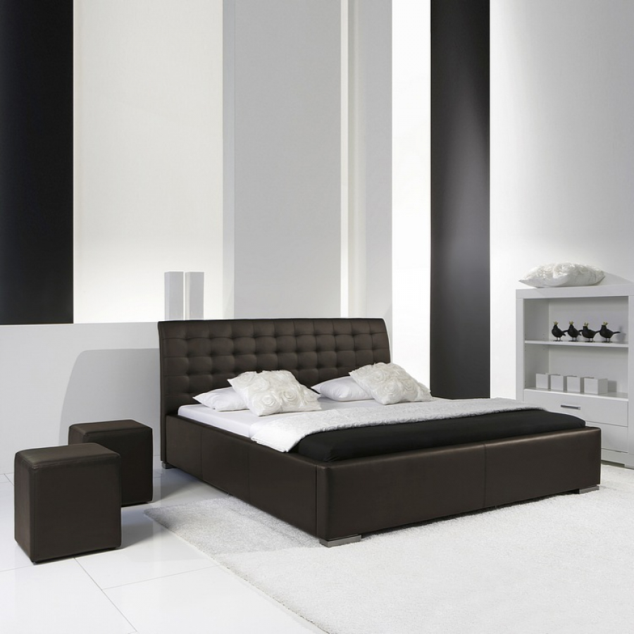 cadre de lit matelass isa comfort 180 x 200 cm comparer avec. Black Bedroom Furniture Sets. Home Design Ideas