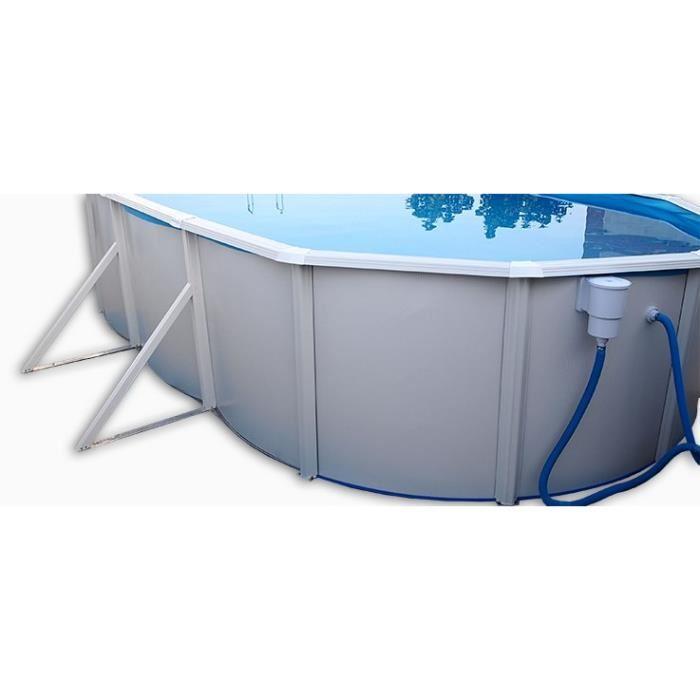 Toi piscine 8934 piscine ovalada en acier 640 x 366 x for Prix piscine 4x3
