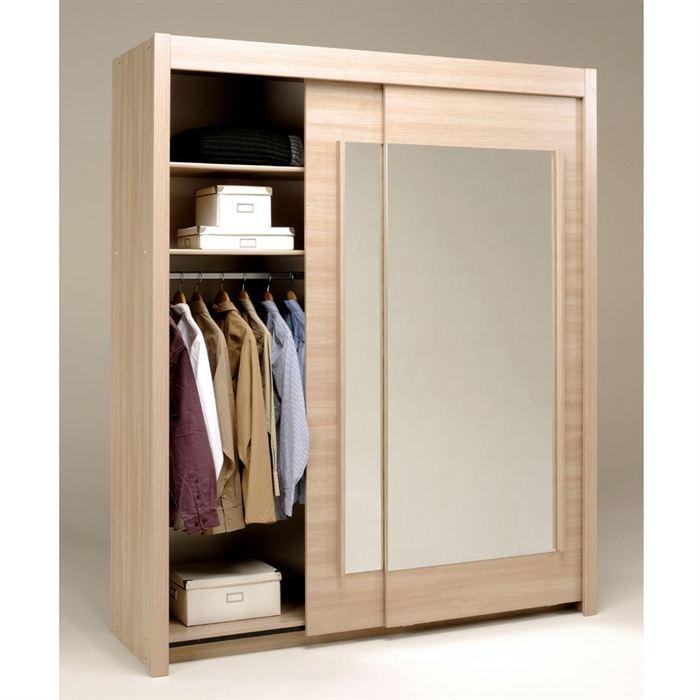 Armoire dream 2 portes coulissantes avec miroirs - Armoire portes coulissantes miroir ...