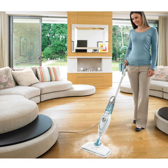 black decker fsm1610 nettoyeur vapeur balai steam mop 0 45 l comparer avec. Black Bedroom Furniture Sets. Home Design Ideas
