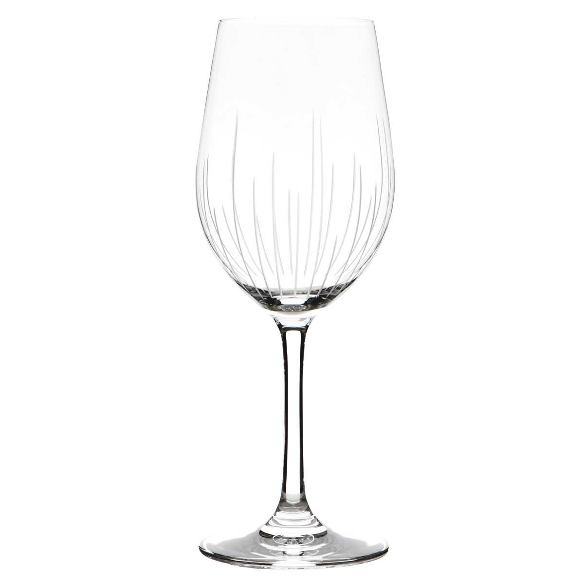 guy degrenne 6 verres vin galat e eclat en cristalin 35. Black Bedroom Furniture Sets. Home Design Ideas
