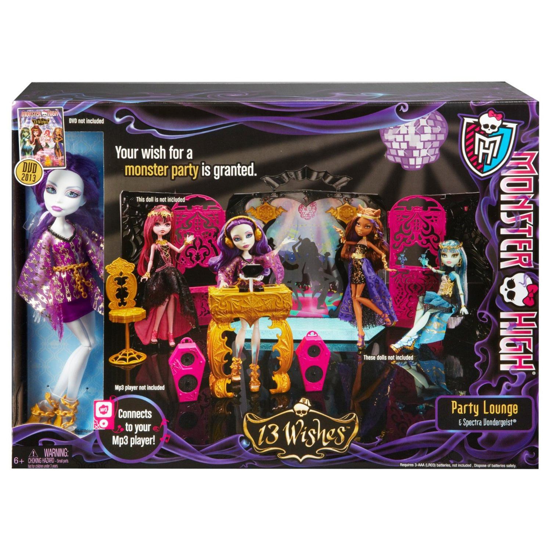 Mattel monster high soir e des 13 souhaits et poup e - 13 souhait monster high ...
