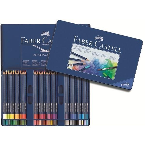 faber-castell 60 crayons de couleur aquarelle - comparer avec