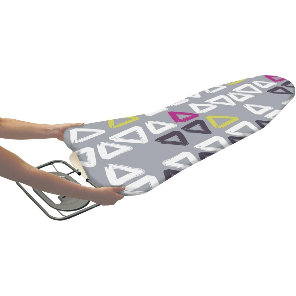 essentielb 8000829 housse repassage elasticoton taille unique comparer avec. Black Bedroom Furniture Sets. Home Design Ideas