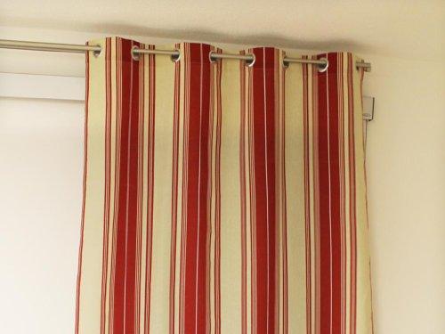 soleil d 39 ocre rideau oeillets kent en coton 140 x 250 cm comparer avec. Black Bedroom Furniture Sets. Home Design Ideas