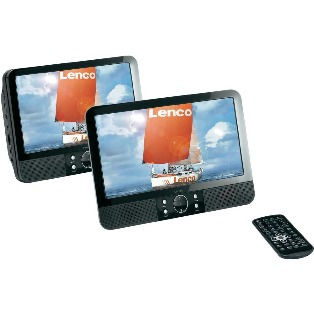 lenco mes 403 lecteur dvd portable avec 2 crans comparer avec. Black Bedroom Furniture Sets. Home Design Ideas