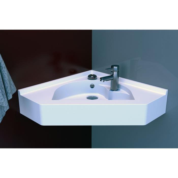 Plan Dangle Simple Vasque Resiangle 50 X 50 Cm Comparer Avec