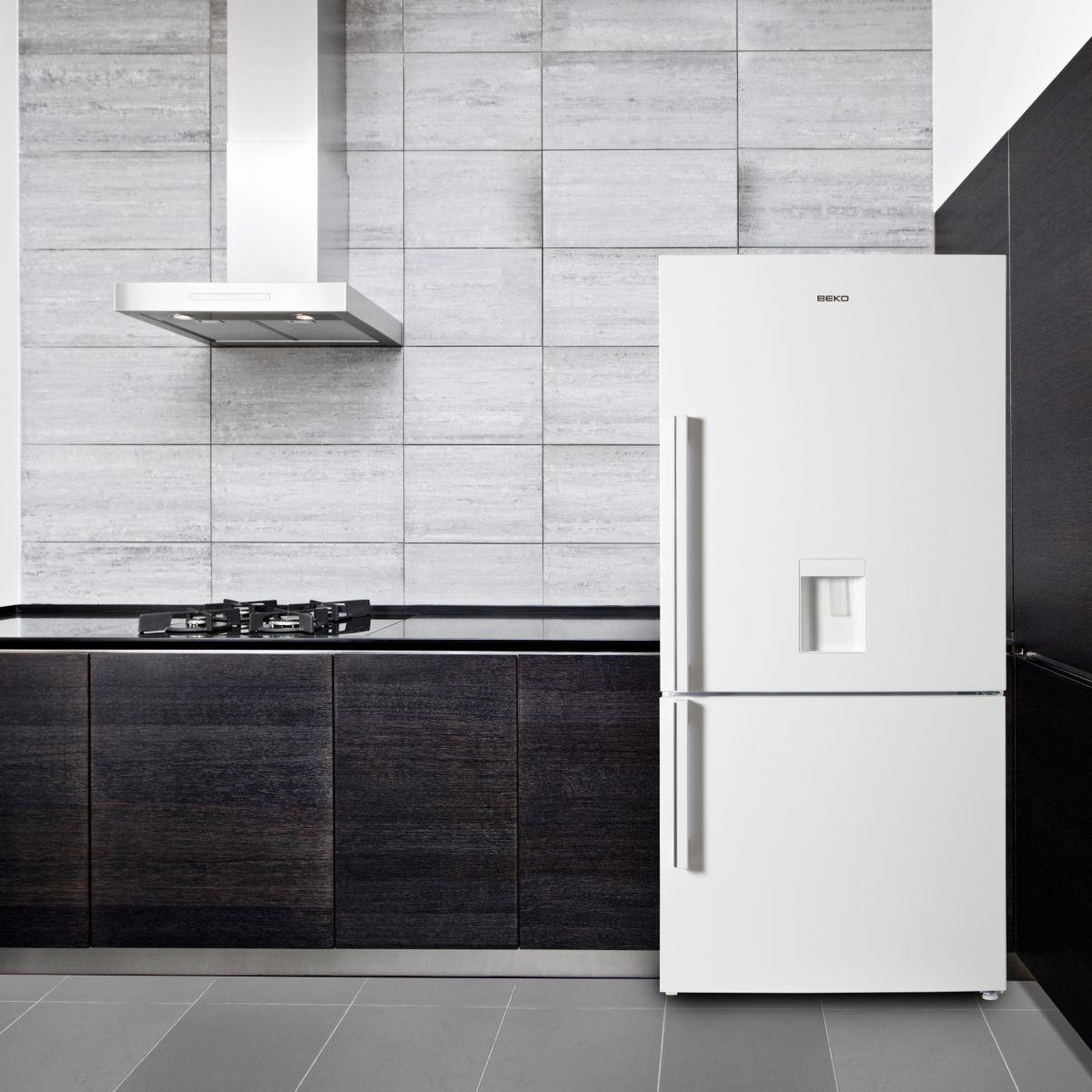 Beko cn161220d r frig rateur combin no frost comparer - Congelateur armoire beko no frost ...
