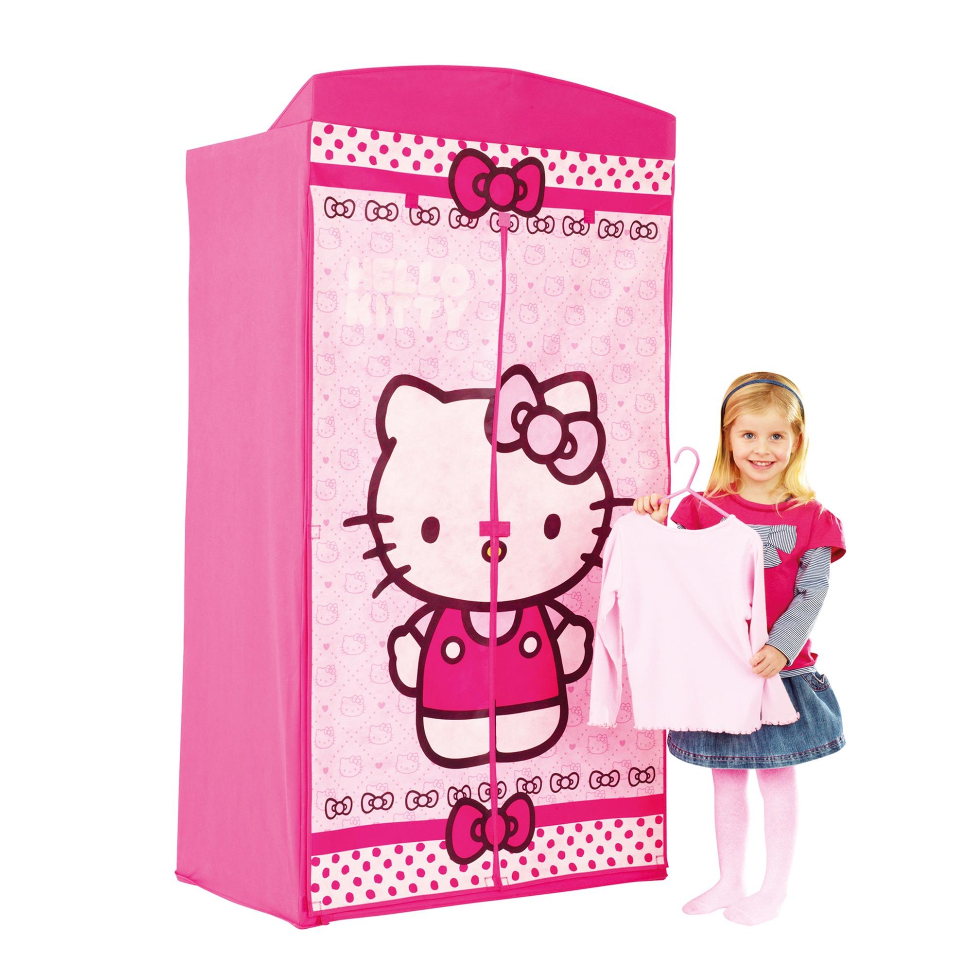 worlds apart armoire penderie en tissu hello kitty. Black Bedroom Furniture Sets. Home Design Ideas