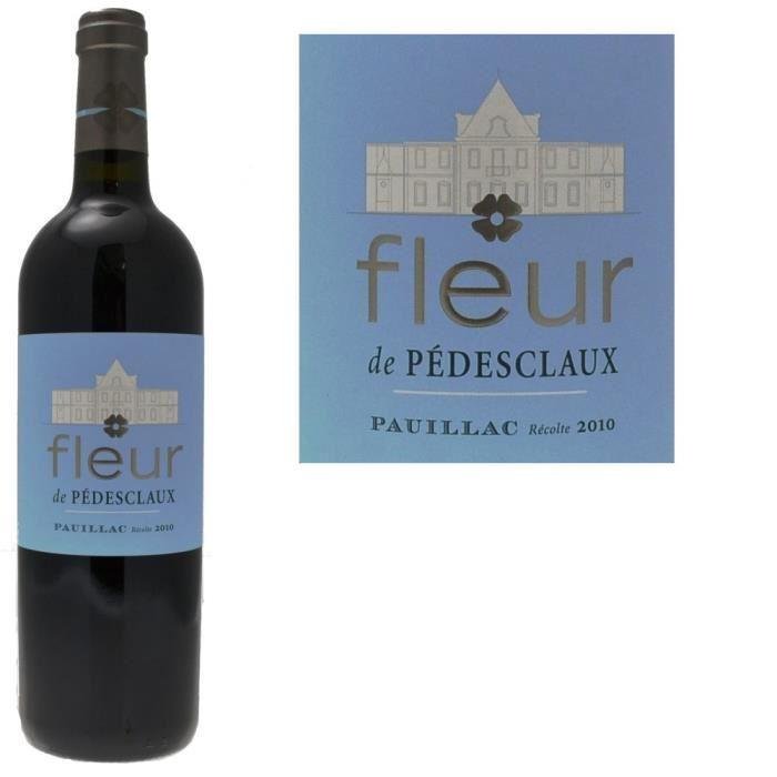 Fleur De Pedesclaux 2010 Vin Rouge De Bordeaux Pauillac