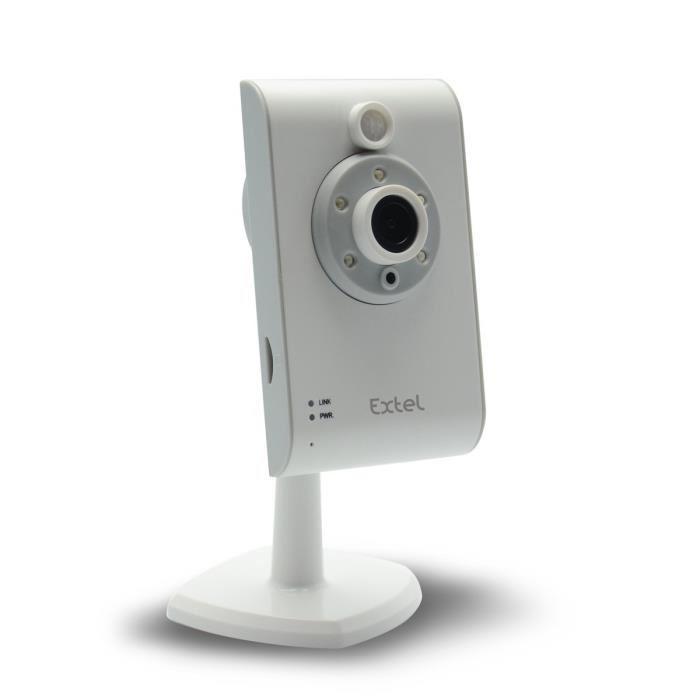 extel 084013 cam ra ip 720p wifi comparer avec. Black Bedroom Furniture Sets. Home Design Ideas
