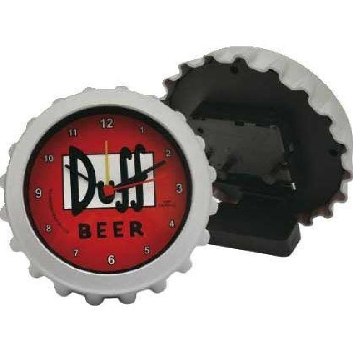 United labels r veil duff beer simpsons 8 cm comparer - Reveil simpson ...