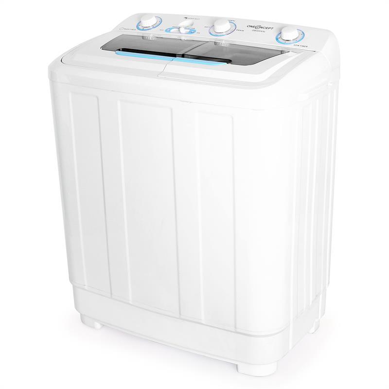Oneconcept db005 xxl mini machine laver 8 5 kg - Mini machine a laver essoreuse ...