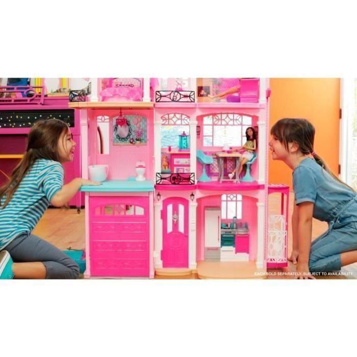 mattel maison de r ve barbie comparer avec