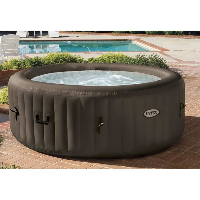 Intex 28424ec spa gonflable 4 personnes 4 jets 795 l for Spa bricorama