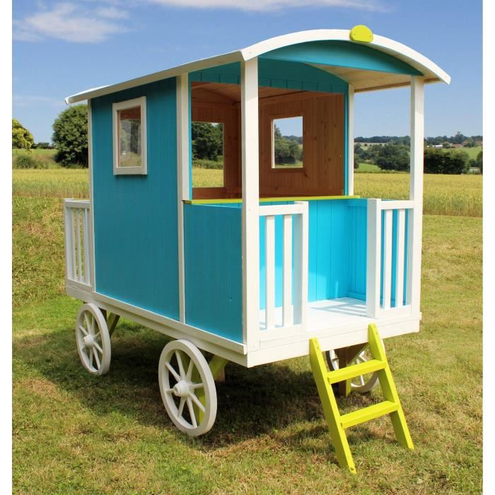 soulet roulotte en bois carry pour enfant comparer avec. Black Bedroom Furniture Sets. Home Design Ideas