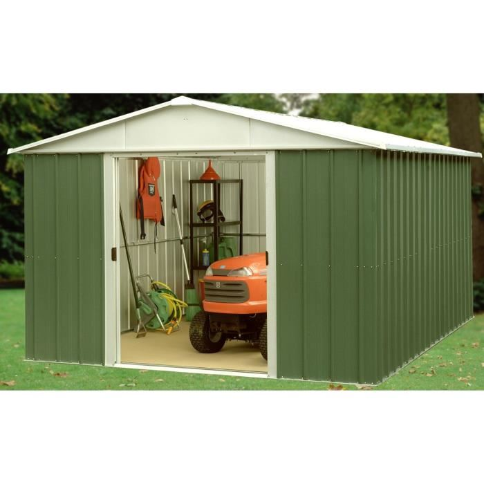 Yardmaster 108GEYZ - Abri de jardin en métal 6,44 m2 - Comparer avec ...