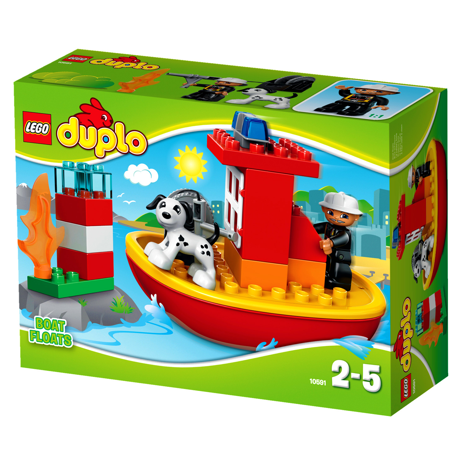 duplo 10591 le bateau des pompiers comparer avec. Black Bedroom Furniture Sets. Home Design Ideas