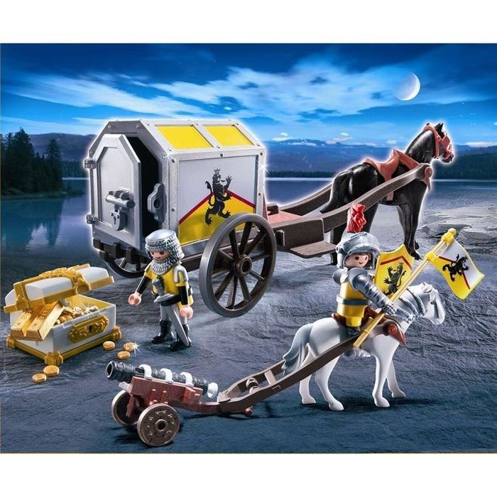 Des D'or 4874 Chevaliers Comparer Transport Playmobil Avec 0nm8Nw