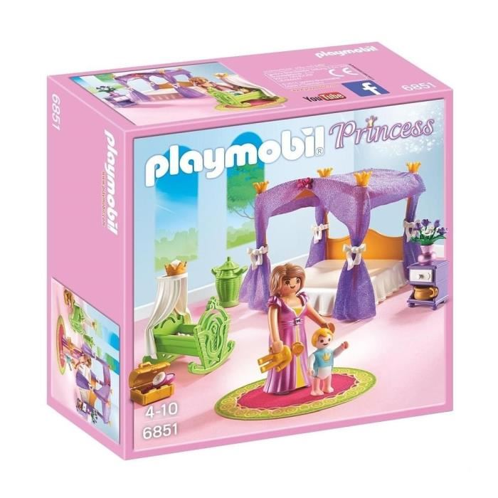 Playmobil 6852 - Chambre de Princesse - Comparer avec Touslesprix.com