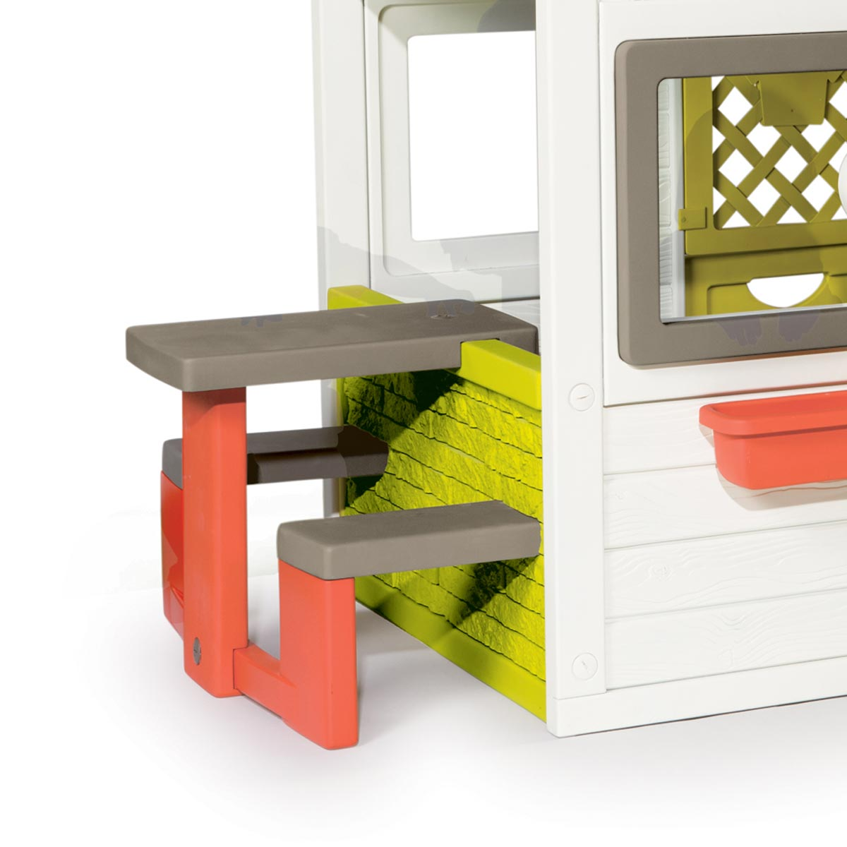 smoby maison de jardin friends house comparer avec. Black Bedroom Furniture Sets. Home Design Ideas