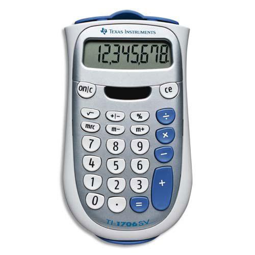 Texas instruments ti 1706sv calculatrice de poche for Calculatrice prix