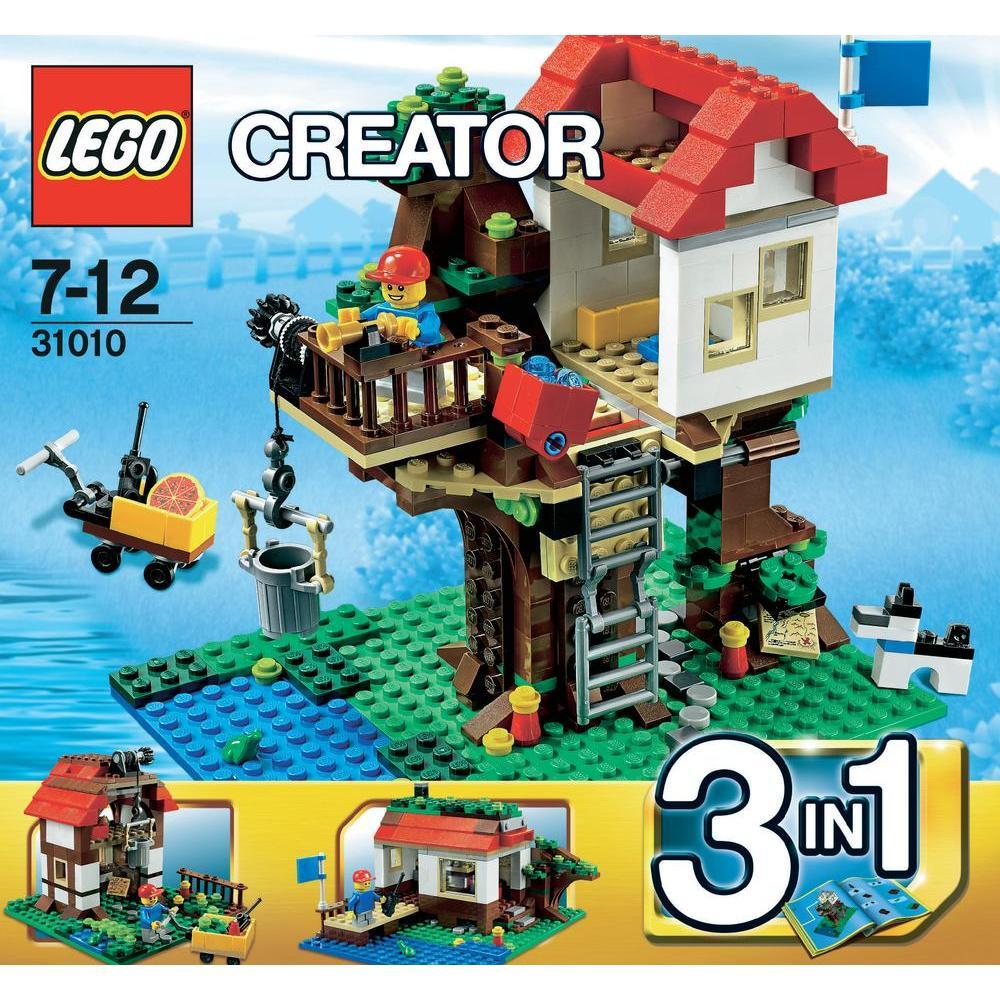 lego 31010 creator 3 en 1 la cabane dans l 39 arbre comparer avec. Black Bedroom Furniture Sets. Home Design Ideas