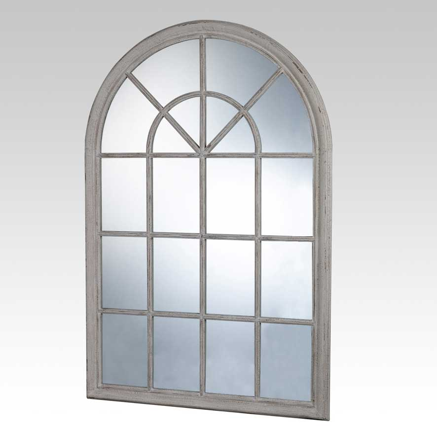 sil a miroir fen tre shine en bois blanchi 100 x 150 cm comparer avec. Black Bedroom Furniture Sets. Home Design Ideas
