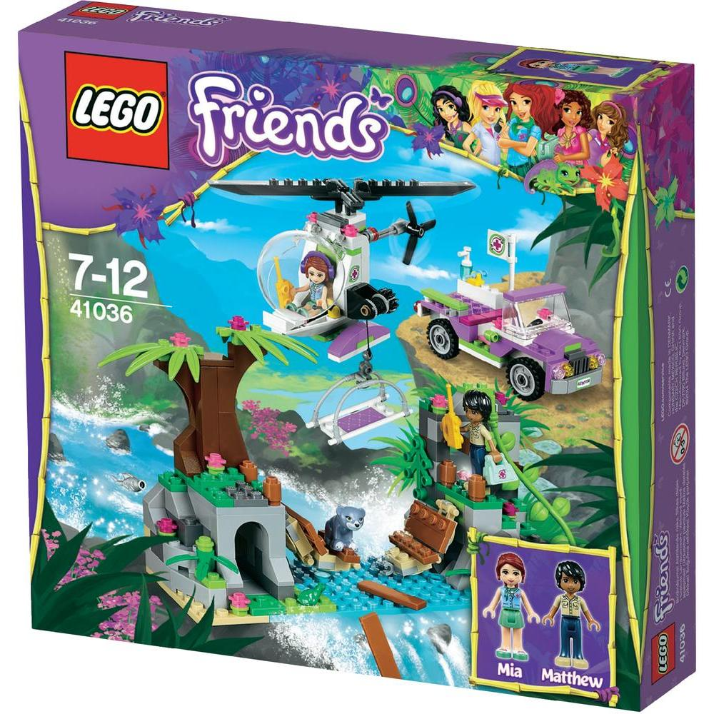 FriendsOpération De Jungle La Sur 41036 D'urgence Pont Le Lego rodxeCBW