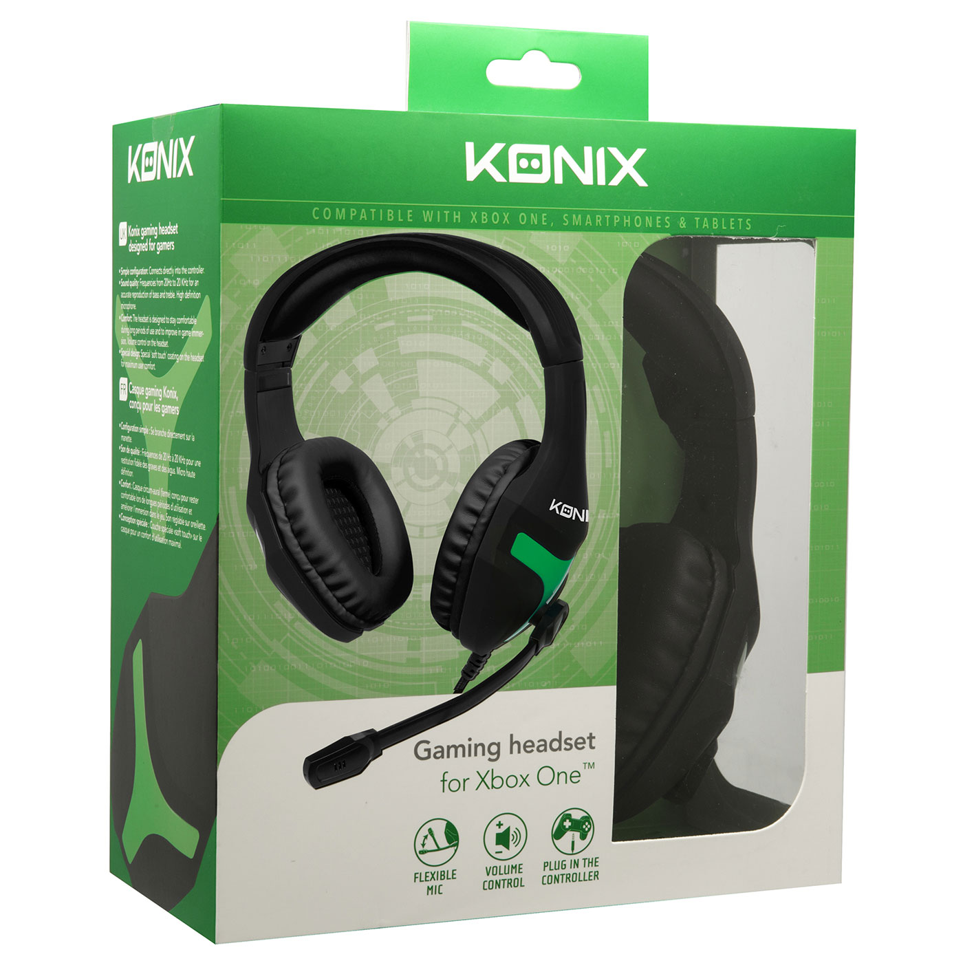 konix casque gaming xbox one comparer avec. Black Bedroom Furniture Sets. Home Design Ideas