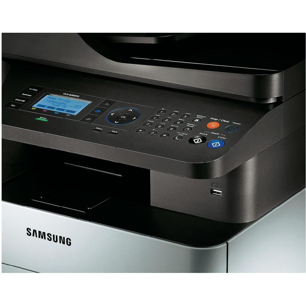 samsung clx 6260f imprimante multifonction fax comparer avec. Black Bedroom Furniture Sets. Home Design Ideas