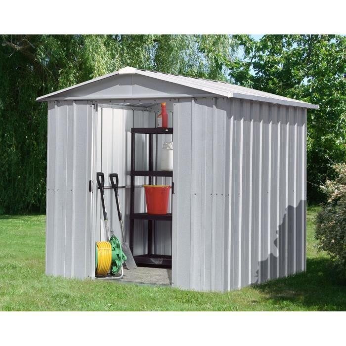 Yardmaster 68ZGEY - Abri de jardin en métal 4,79 m2 - Comparer avec ...