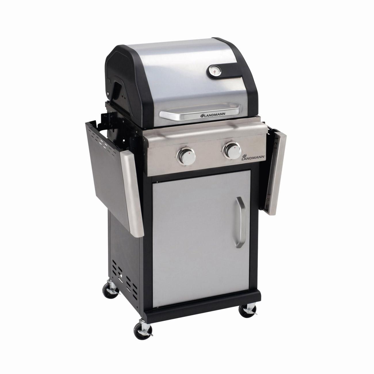 landmann triton - barbecue à gaz 2 feux sur chariot - comparer avec