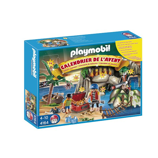 playmobil 4164 calendrier de l 39 avent tr sor des pirates comparer avec. Black Bedroom Furniture Sets. Home Design Ideas