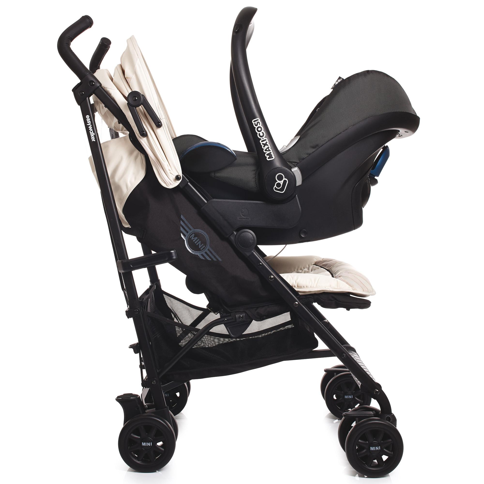easywalker adaptateurs de si ges auto pour poussette mini buggy comparer avec. Black Bedroom Furniture Sets. Home Design Ideas