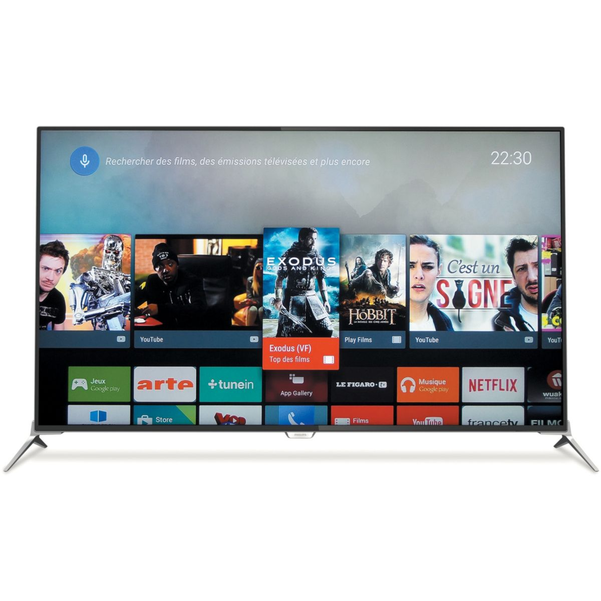 philips 43pus7100 t l viseur led 108 cm 3d 4k smart tv. Black Bedroom Furniture Sets. Home Design Ideas